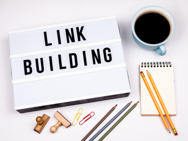 maximise internal links coffee and paper