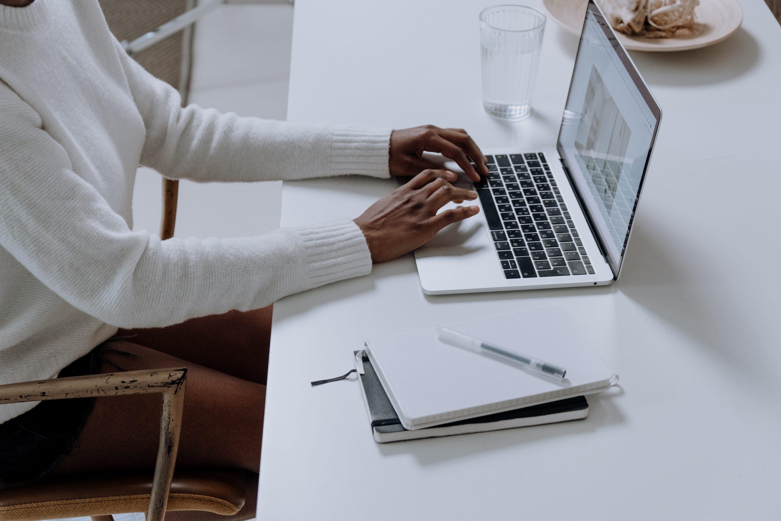 Google Ads Match Types laptop on desk
