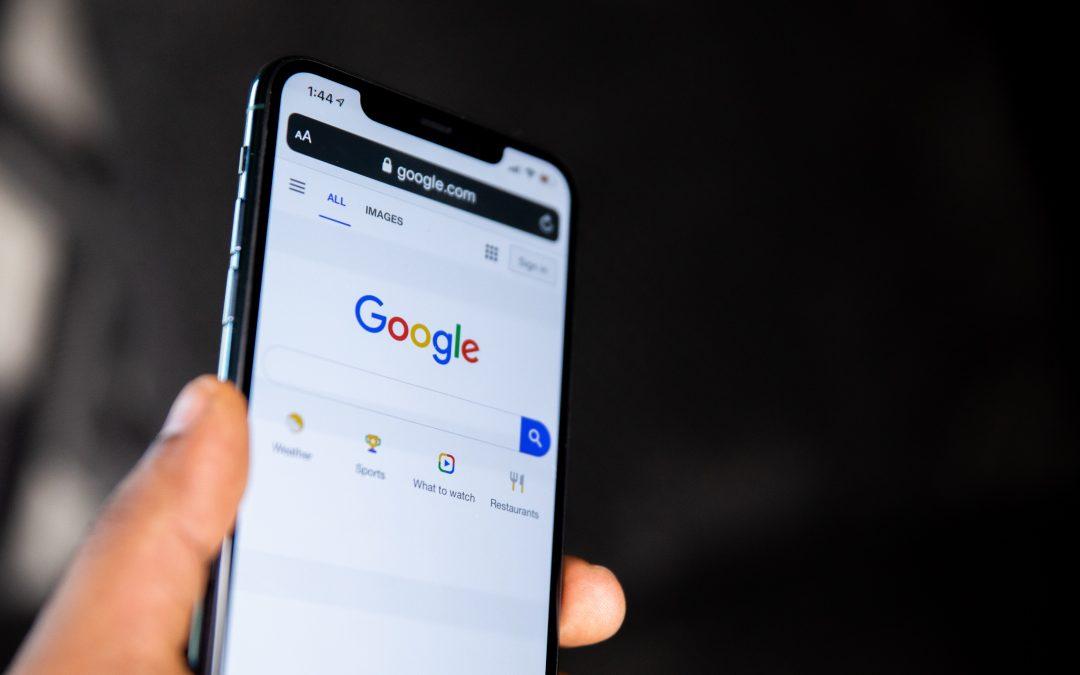 Google core update phone